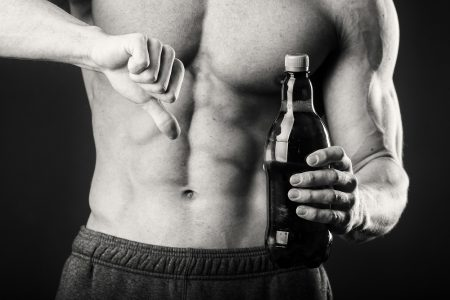 alcohol and muscle growth